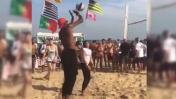 Río 2016: El 'Dream Team' se relajó jugando vóley [VIDEO]