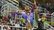 Biles se despide de Río con oro: su última presentación [FOTOS]