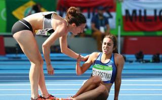 El gesto que vale como un oro en atletismo femenino de Río 2016