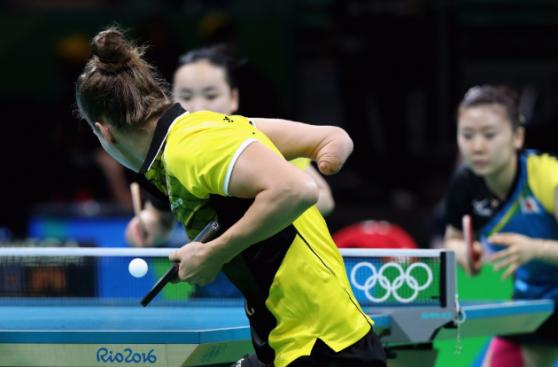 La deportista que participó en Río y ya piensa en Paralímpicos
