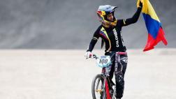 Mariana Pajón clasificó primera a semifinales de ciclismo BMX