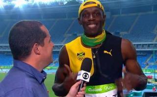 Usain Bolt celebró medalla cantando una canción de Bob Marley