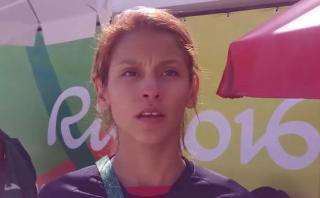 Julissa Diez Canseco desconoce si seguirá entrenando en España
