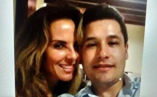 Difunden foto de Kate del Castillo con hijo de El Chapo raptado