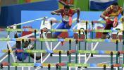 Río 2016: la caída más aparatosa de los 110 metros con vallas