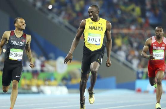 Usain Bolt y el momento con De Grasse del que todos hablan