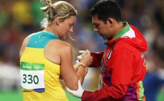 Río 2016: sufrió luxación en el hombro en la prueba de jabalina