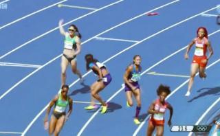 Río 2016: el increíble error de Estados Unidos en postas 4x100