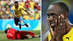 Neymar vs Bolt: ¿Por qué Twitter oficial Río 2016 los comparó?