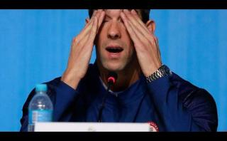 Phelps volvió a Estados Unidos y se negó a ser entrevistado
