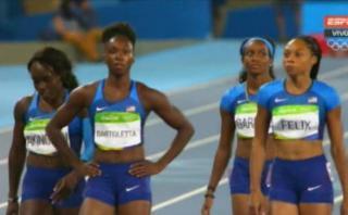 Río 2016: EE.UU. compitió de nuevo en postas 4x100 y clasificó