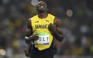 Usain Bolt y el divertido baile previo a los 200m en Río 2016