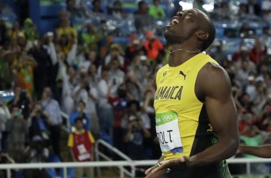 Usain Bolt explicó por qué no batió récord e hizo un pedido