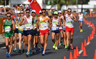 Marcha atlética 50K: peruano Pavel Chihuán acabó en puesto 48