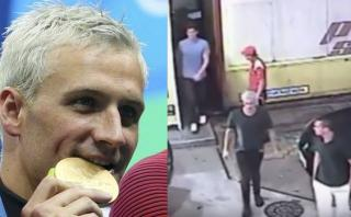El video que puso en evidencia la mentira de Lochte en Río 2016