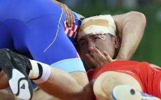 Río 2016: luchador se desmayó en pelea, despertó y ganó oro