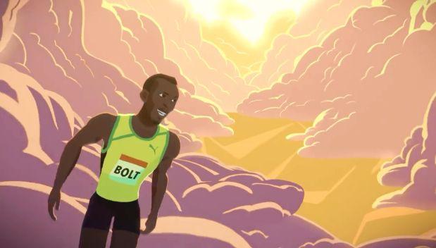 Usain Bolt y el corto animado inspirado en su historia [VIDEO]