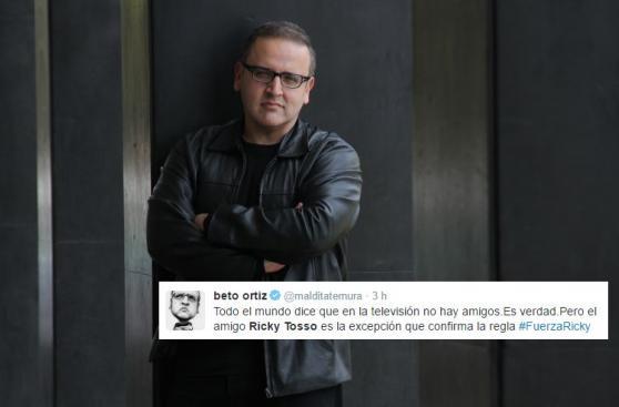 Ricky Tosso: artistas elevan sus plegarias por salud del actor