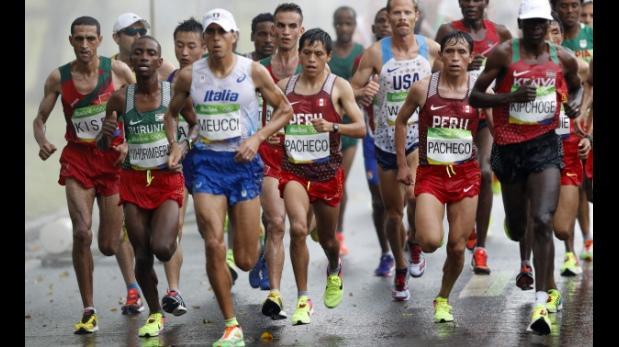 Río 2016: Raúl Machacuay y hermanos Pacheco culminaron maratón