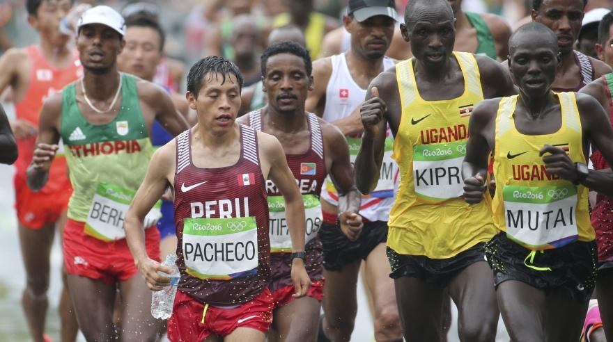 Río 2016: así compitieron los peruanos en la maratón masculina