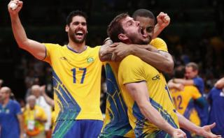 Río 2016: Brasil conquistó oro olímpico en vóley masculino