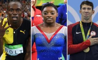 Río 2016: Bolt, Phelps y las estrellas que brillaron en JJ.OO.