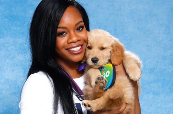 Estos atletas olímpicos promovieron la adopción de perros