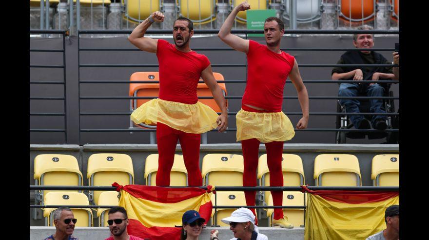 Río 2016: la alegría y el color que se vivió en tribunas