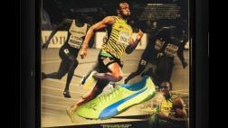 La zapatilla de Usain Bolt que cuesta más de 18.000 dólares