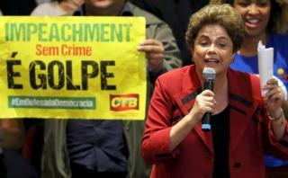 """Dilma evoca a ex presidente que se suicidó y llama a """"resistir"""""""