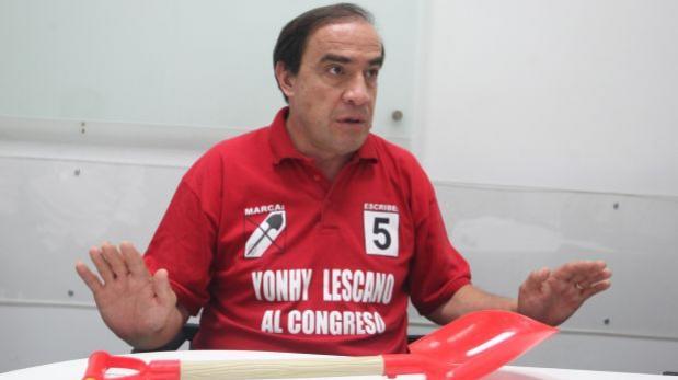 Lescano considera que Gutiérrez será nuevo defensor del Pueblo