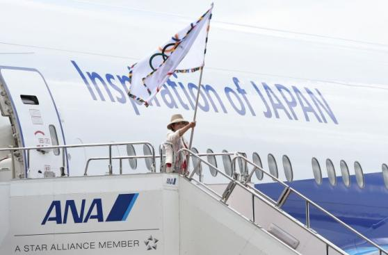 De Río 2016 a Tokio 2020: bandera olímpica llegó a Japón