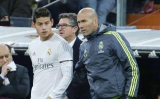 Real Madrid: Zidane habló acerca del futuro de James Rodríguez