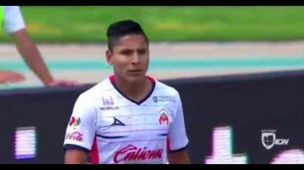 Con participación de Ruidíaz: Morelia igualó 2-2 con Toluca