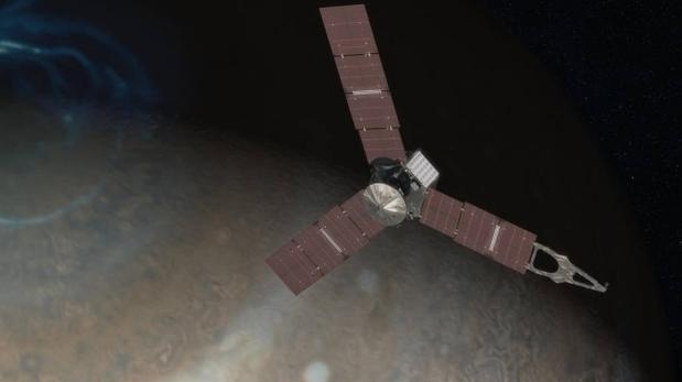 La sonda Juno se coloca en la órbita más cercana a Júpiter