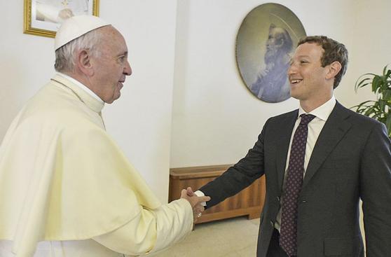 Mark Zuckerberg visita al papa Francisco en el Vaticano [FOTOS]
