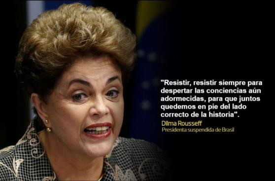 Las emotivas frases de Dilma en su defensa ante el Senado