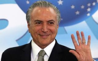 """Temer acompaña el juicio contra Dilma con """"tranquilidad"""""""