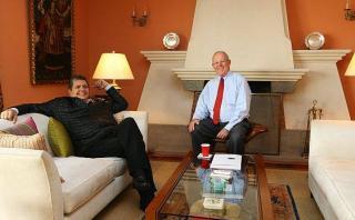 PPK se reunió con ex mandatario Alan García en San Isidro