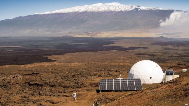 Las aventuras de los científicos que simularon viajar a Marte