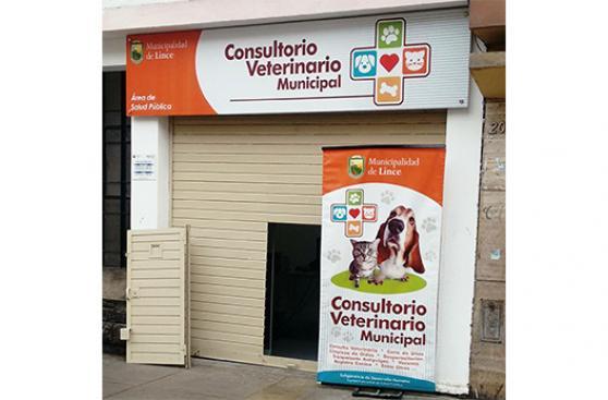 Consultorio veterinario alivia a vecinos de Lince