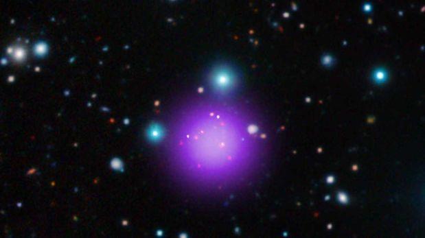 NASA: conoce a la agrupación galáctica más alejada de la Tierra