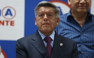 César Acuña cuestionó proyecto de Ley de Presupuesto de PPK