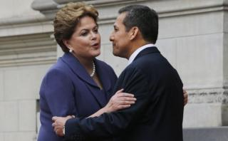 """Humala a Dilma: """"Cuando la marea pase, pueblo será tu respaldo"""""""