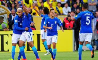 Brasil dio el golpe y goleó 3-0 a Ecuador en Quito [VIDEO]