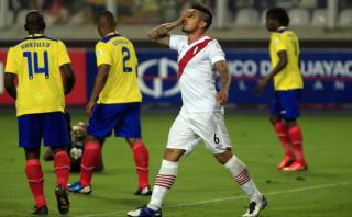 ¿Cómo le fue a Perú ante Ecuador en 4 últimas eliminatorias?