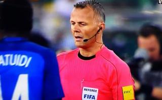 FIFA probó con éxito arbitraje con video en Italia-Francia