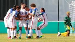 Estados Unidos goleó 6-0 a San Vicente rumbo a Rusia 2018