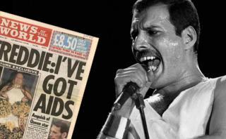 Freddie Mercury y el mensaje con el que contó que tenía sida