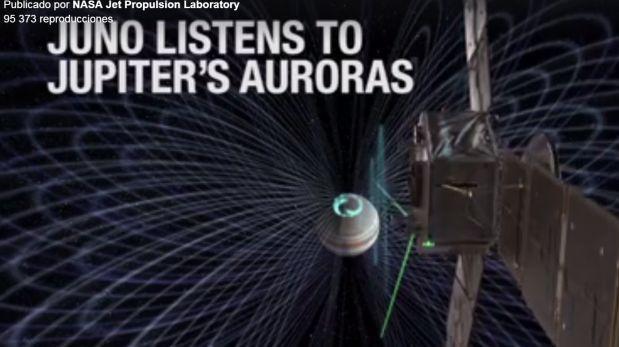 """Facebook: así es como se oye la """"voz"""" de Júpiter [VIDEO]"""